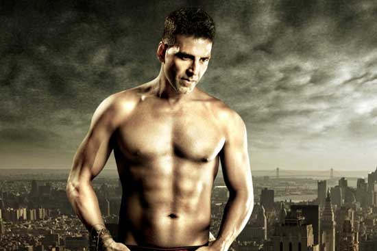 Akshay Kumar Chest