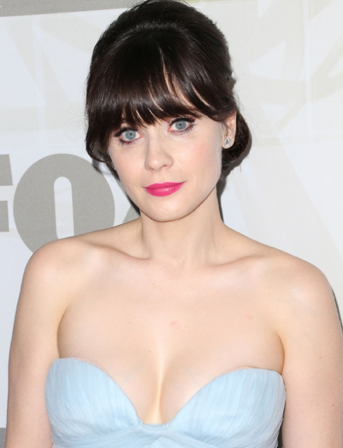 zooey deschanel in bra