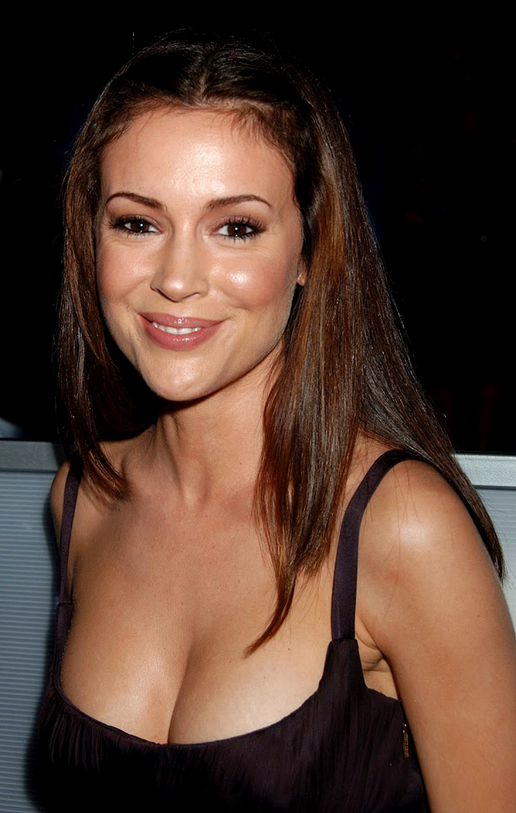 alyssa milano black