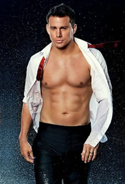 Channing Tatum Chest and Biceps Size