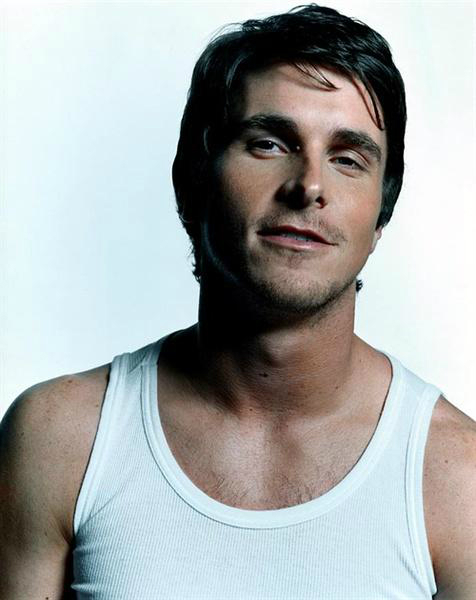 RChristian Bale Chest and Biceps Size