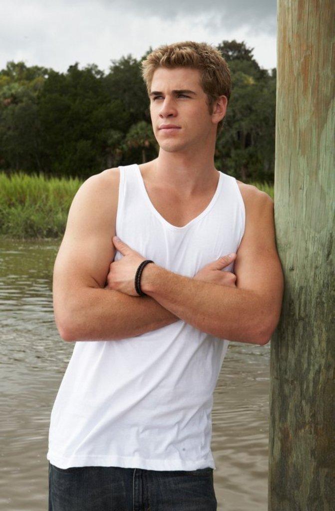 Liam Hemsworth Biceps Size