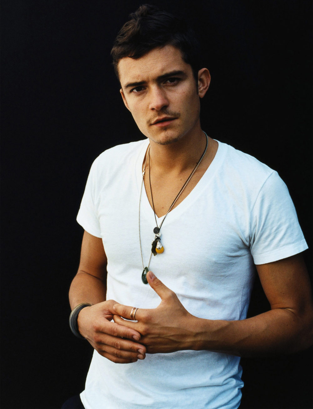 Orlando Bloom Chest and Biceps Size