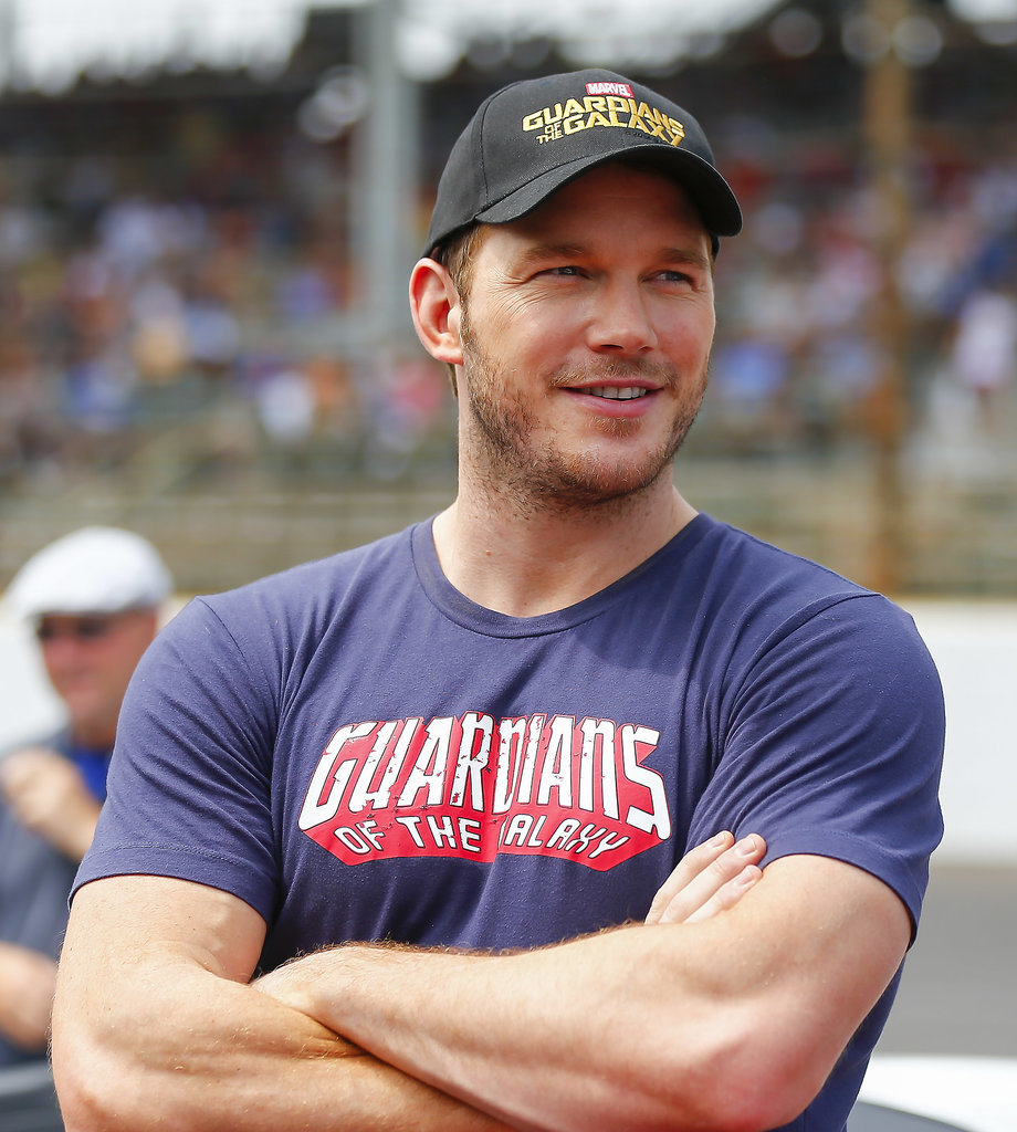 Chris Pratt Biceps Size