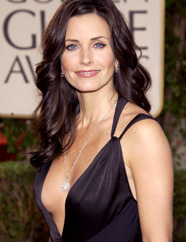 Courteney Cox Bra Size