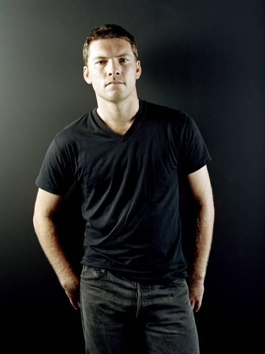 Sam Worthington  Biceps Size