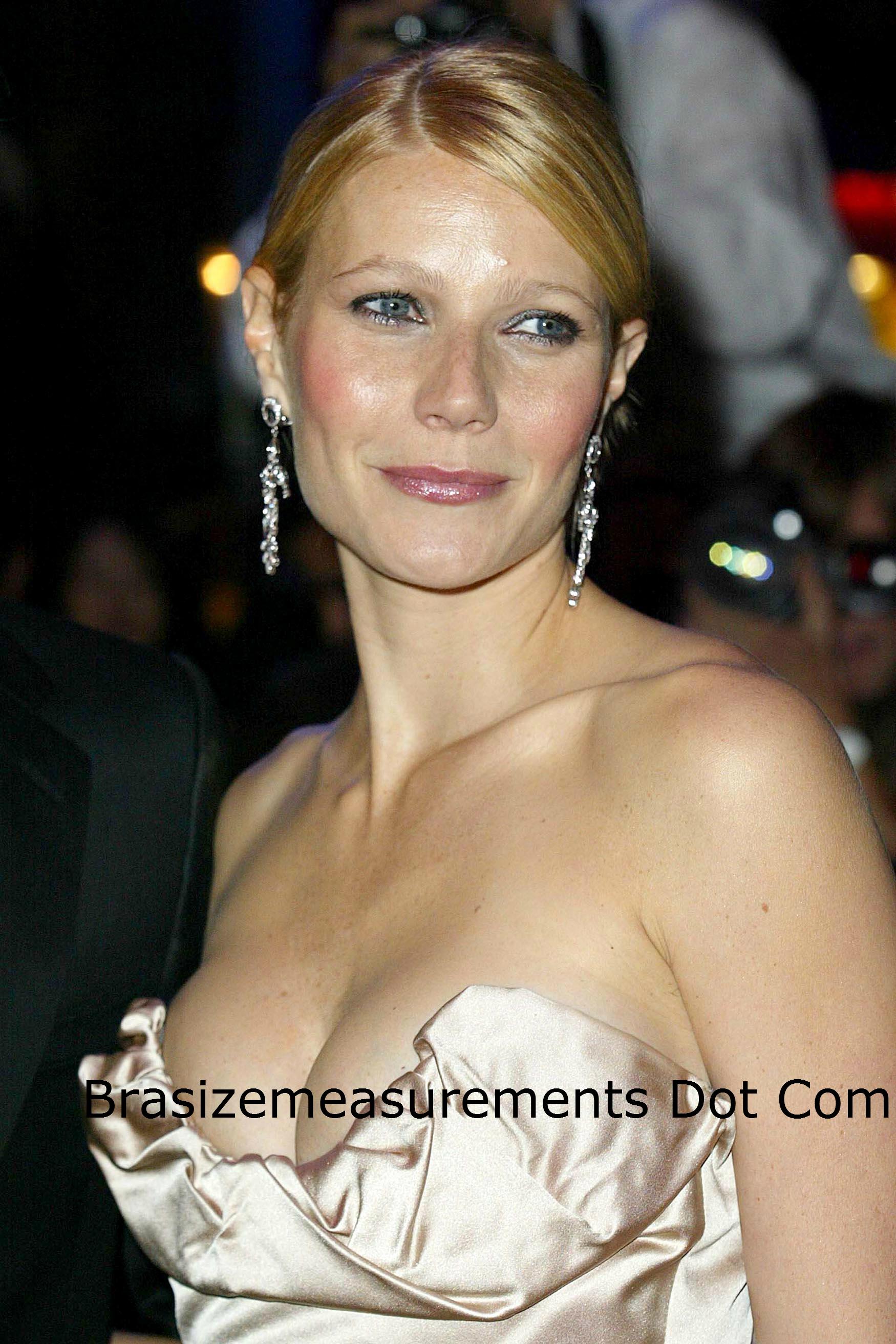 Gwyneth Paltrow Bra Size