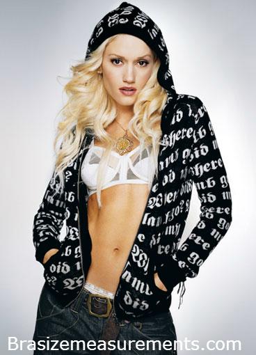 Gwen Stefani Bra Size