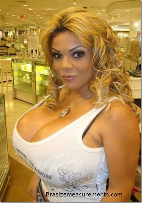 Sheyla Hershey Bra Size