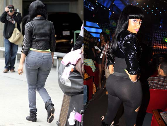 Nicki Minaj Butt Implant Surgery Celebrity Bra Size