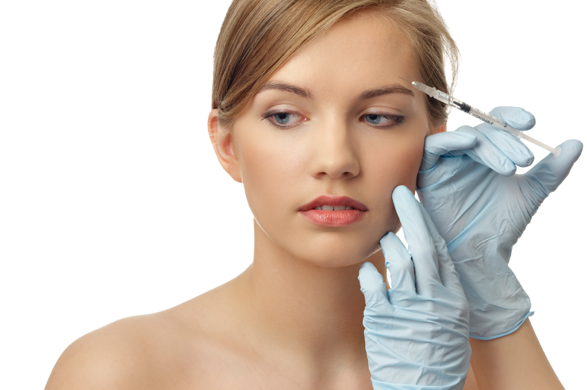 Receive Botox Injection