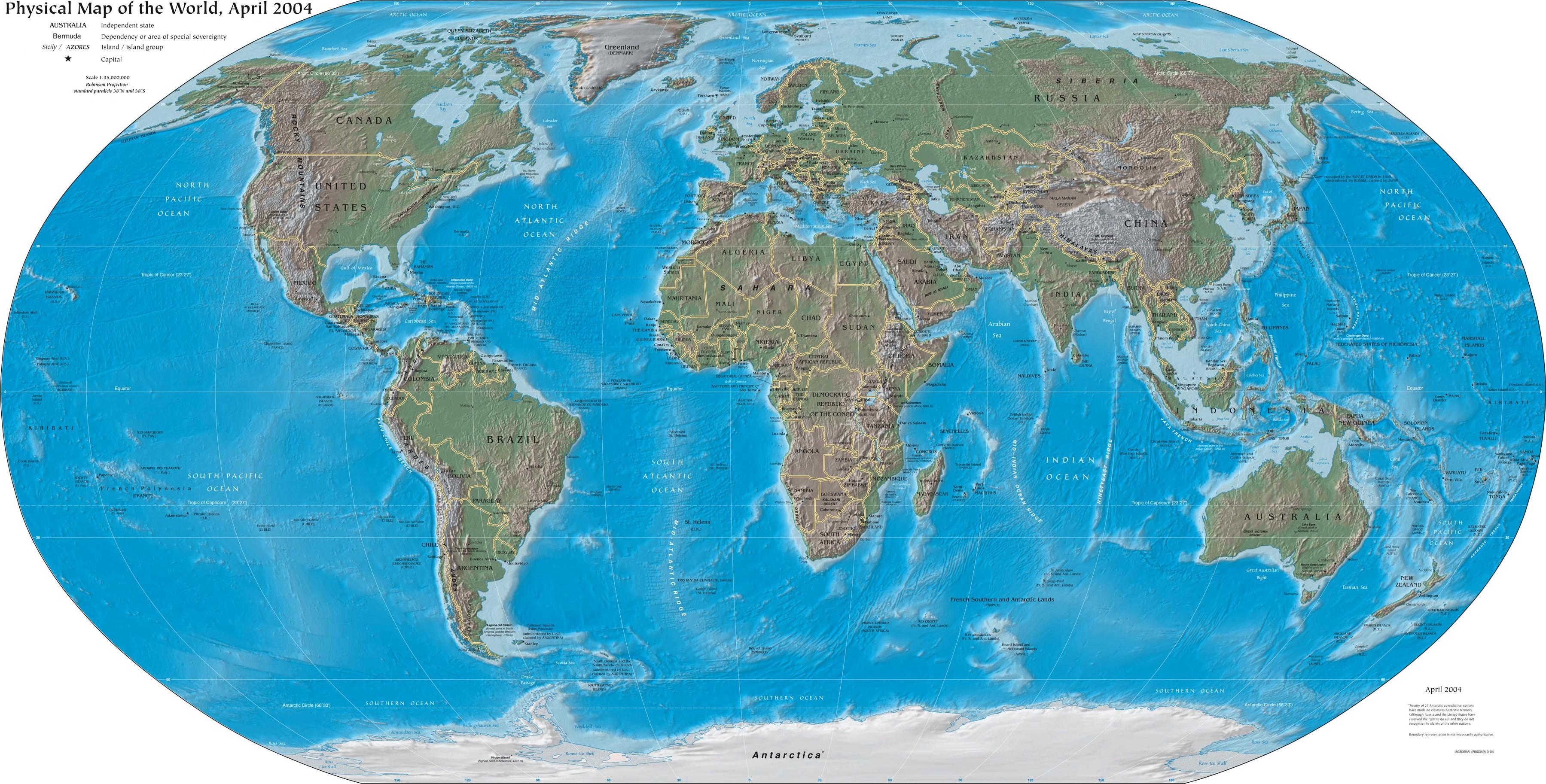 World Map Surgery