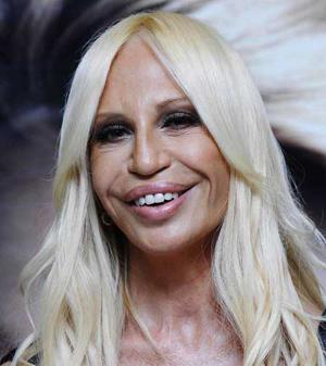 Donatella Versace Lip Looks Horrible